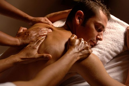 Six-arm massage: pleasure beyond reality